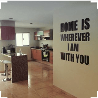 rented property decor
