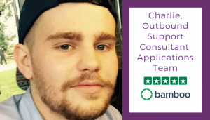 Charlie Scrivens Outbound Support Consultant, Applications Team