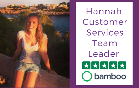 Hannah, Customer Services Team Leader