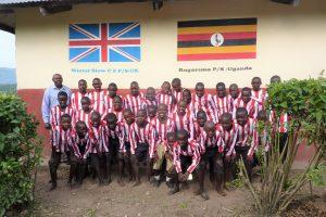 Children at Rugarama Primary School in Uganda