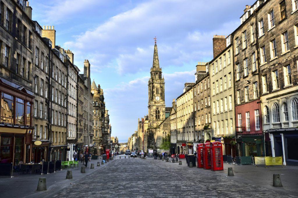 Scottish capital