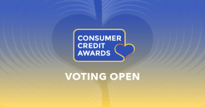 Consumer Credit Awards 2019 - Vote for us