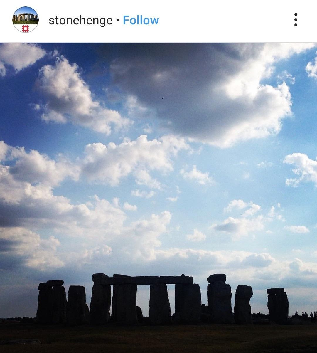 Stonehenge on a cloudy day is still gorgeous.