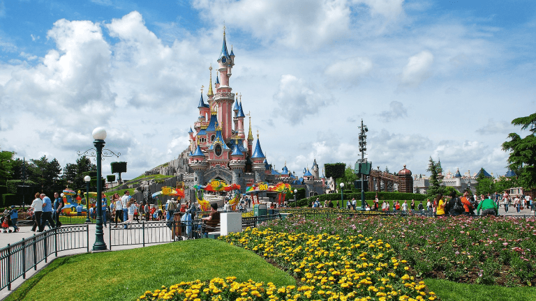the Castle at Disneyland Paris